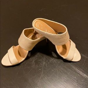 CK mule sandals in perfect condition 9.5